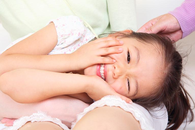 経口感染、唾液感染に気をつける